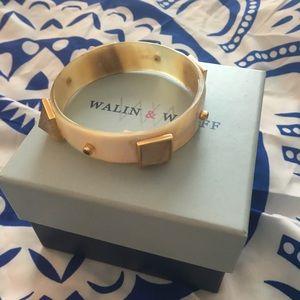 Horn/Crystal Bracelet